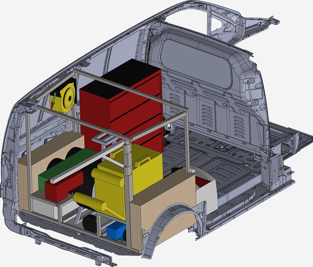 Officine mobili allestimenti roma for Progettazione mobili 3d