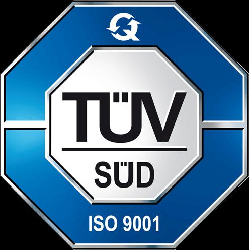 Certificazione TUV Sud iso 9001