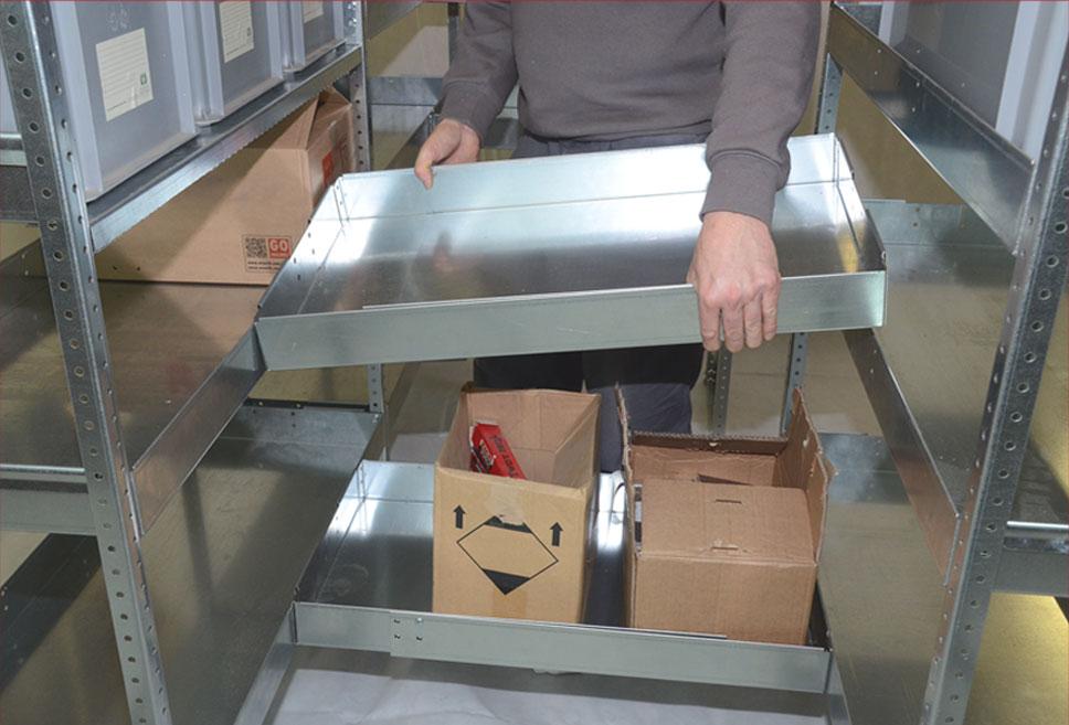 Vending - Ripiani a ponte removibili